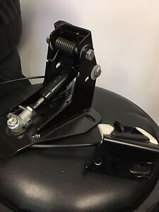 Harley adjustable backrest