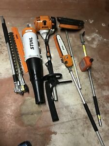 Stihl pole saw whippersnipper