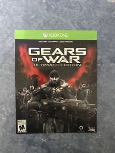 XBox One games (Gears of War; 4 & Ultimate Edition)