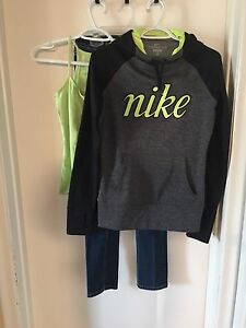 Complete Outfit - Nike Hoodie, Jeans & Tank!