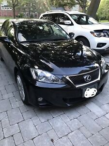 2011 Lexus IS250 AWD - low km, no accident