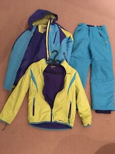 Girls' Champion C9 3-piece ski suit - size 10-12