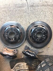 Brake kit Wilwood disc et pad et galliper civic si