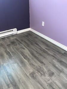 12 mm Laminate flooring w underlay SOLD PPU