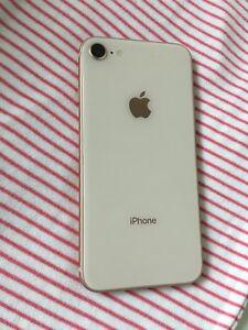 Unlocked gold iPhone 8