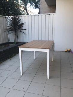 Lerhamn Ikea Table solid pine wood