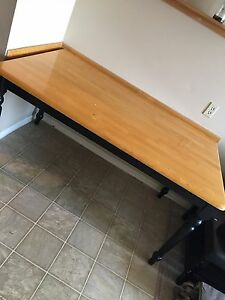 5 foot wooden table very heavy FREE