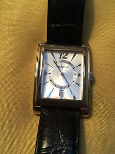 Perry Ellis Watch/ Leather Band