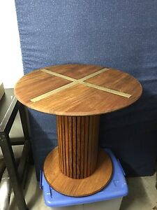 Round timber table Bayview Pittwater Area Preview