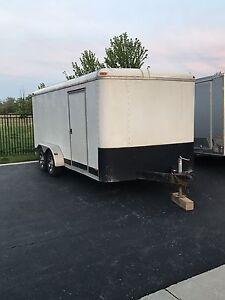 Enclosed trailer 7'x16'
