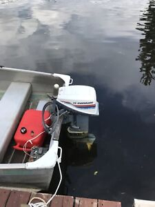 15 hp Evinrude with Electric Start