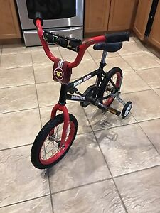 BMX 1400 with Training Wheels