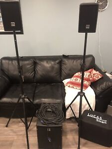 HK Audio Lucas smart portable PA system (Made in Germany)