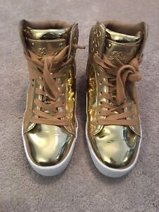 Pastry Hip Hop Shoes - GOLD