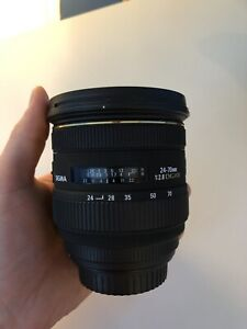 Sigma 24-70mm f2.8 Lens w/ Variable ND