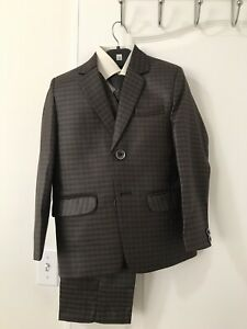 Kid boys 5 pieces suit