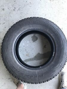 "Like new Bridgestone 18"" Winter Tires OBO"