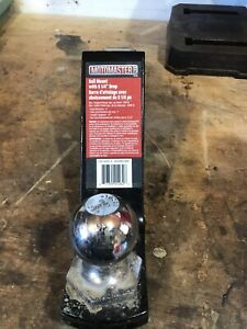 """5 1/4"""" drop hitch with 2"""" ball"""