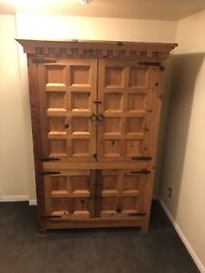 Armoire 175.00 - solid wood armoire or entertainment unit