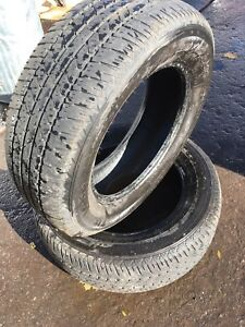 215/65R16 98T FIRESTONE FR710 Used All Season Tires - 2 Tires