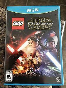 Star Wars Lego Force Awakens Wii U like new! Cambridge Kitchener Area image 1