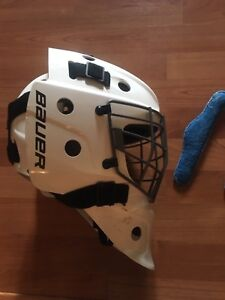 Bauer NME5 Goal Mask FIT 3 Excellent Condition