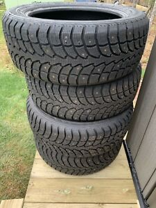 Winter Claw 21555r17 studded tires