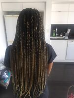 Professional and affordable braiding and weave installation