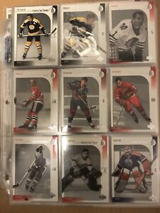 Clearing out some of my extra hockey card sets