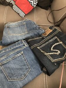 Pair of 16 jeans