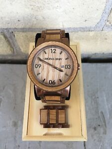 Original Grain Whiskey Barrel Watch