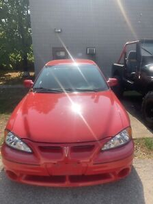 FOR SALE 2002 PONTIAC GRAND AM GT ONLY 108000 kms!