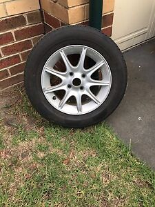 Ford Laser LXI/Mazda 323 spare tyre (alloy wheel). MUST GO!!! Mount Waverley Monash Area Preview