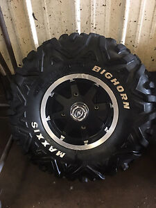 Polaris rims and tires