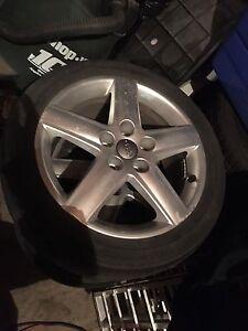 4 Stock Audi A4 Rims