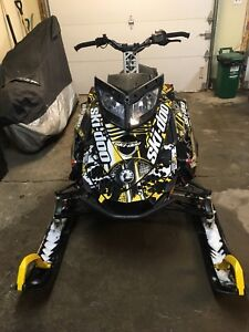 2012 skidoo backcountry and 2008 arctic cat f6