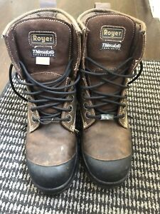Royer work boots size 13 like new
