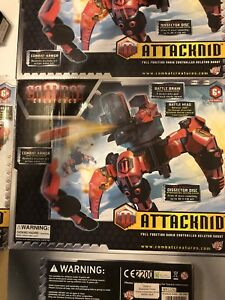 Combat Creatures Attacknid remote controlled fighting robots
