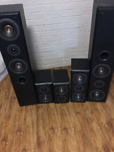 Technics speakers and Yamaha subwoofer for sale