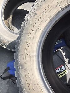 275/70/18 tires HD grapplers 10 ply