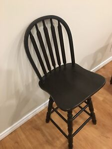High Chair (bar stool height) $10 obo