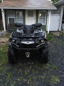 2016 Can Am Outlander 850XT open to resonance offers!