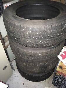 Michelin winter tires 235/55R17