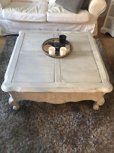 Shabby Chic Rustic Coffee Table