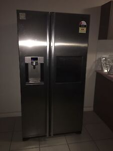 Samsung ice making double door fridge and freezer South Plympton Marion Area Preview
