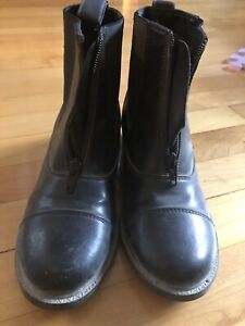Horse riding boots and breeches