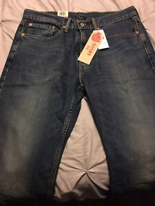 Levi's 514 jeans (straight stretch) new with tags. 34x32