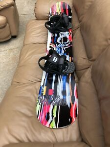 Head Rocka Matrix snowboard and bindings. Brand new never used