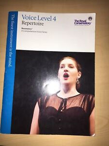 Royal Conservatory Level 4 Vocal (with CD)