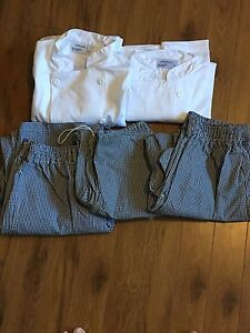 Chef/Cook Jackets and Pants never worn